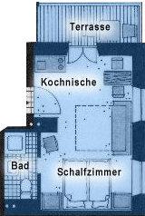 Grundriss Ferienwohnung Heimgarten